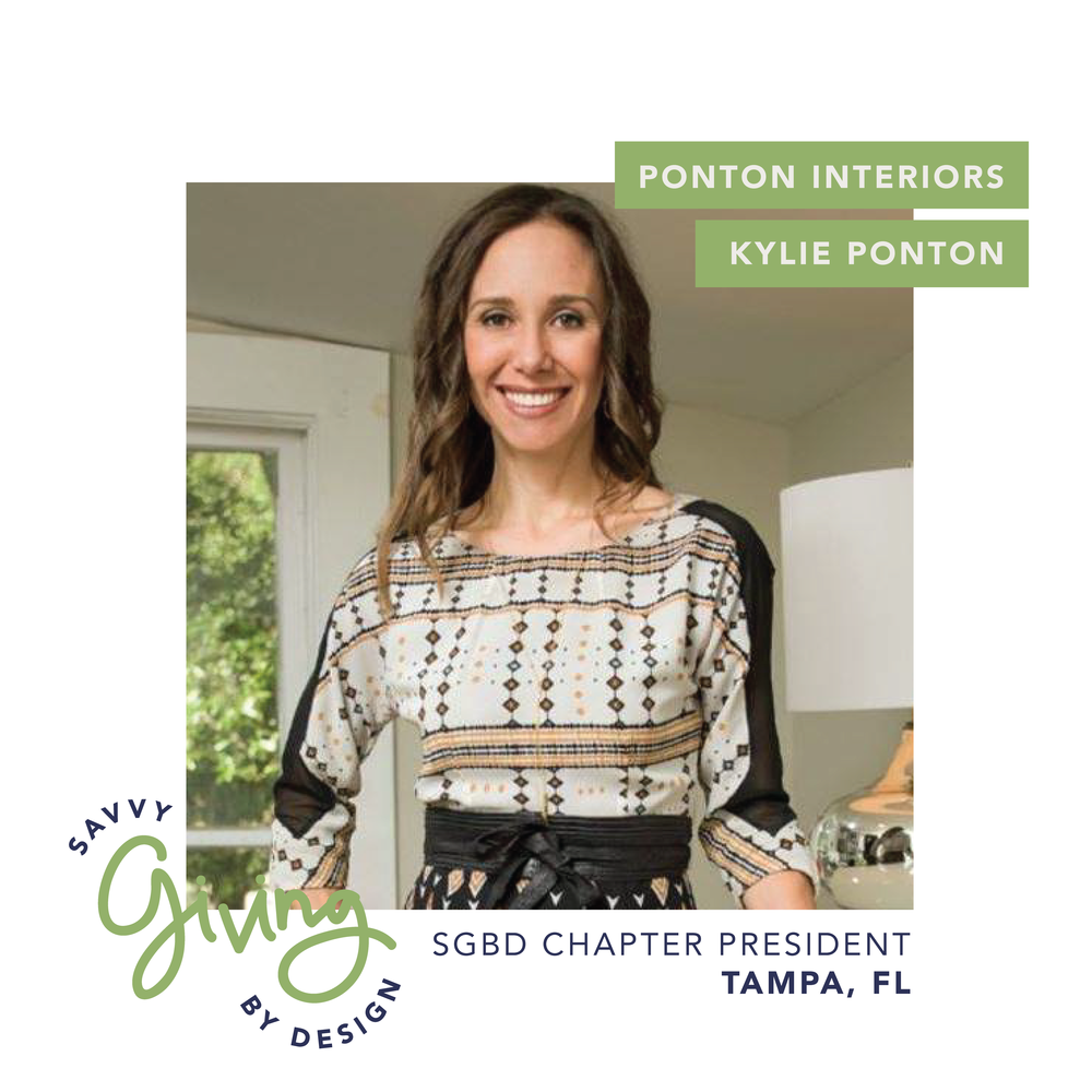 kylie ponton interior design savvy giving chapter tampa florida