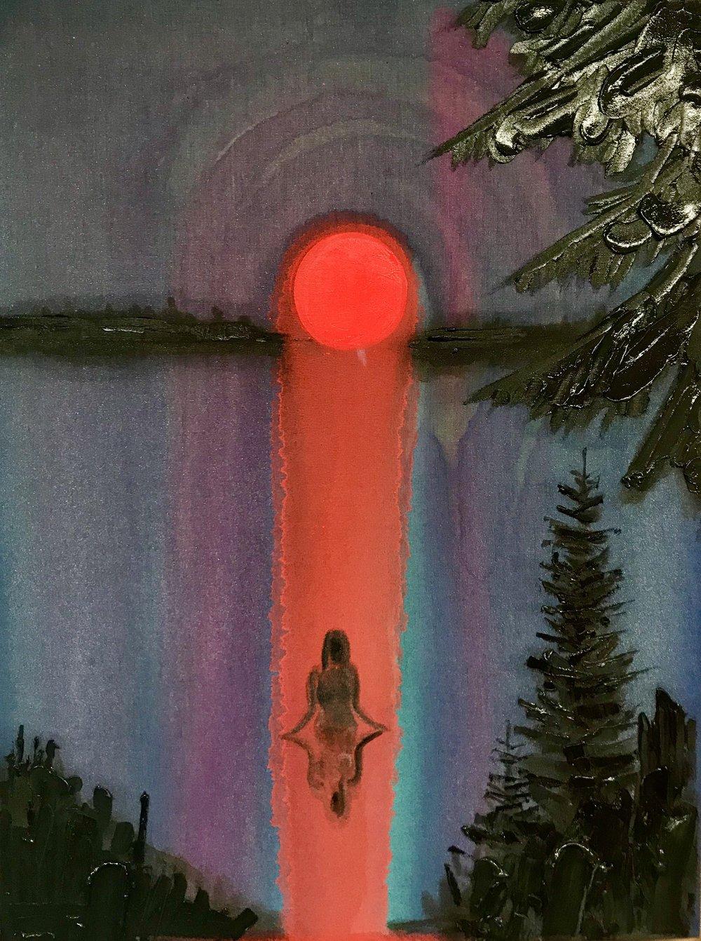 Kim Dorland - Last Sunset