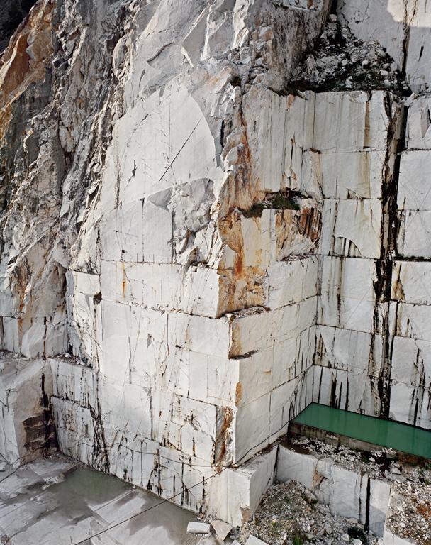 Edward Burtynsky - Carrarra #12,Carrara, Italy 1993