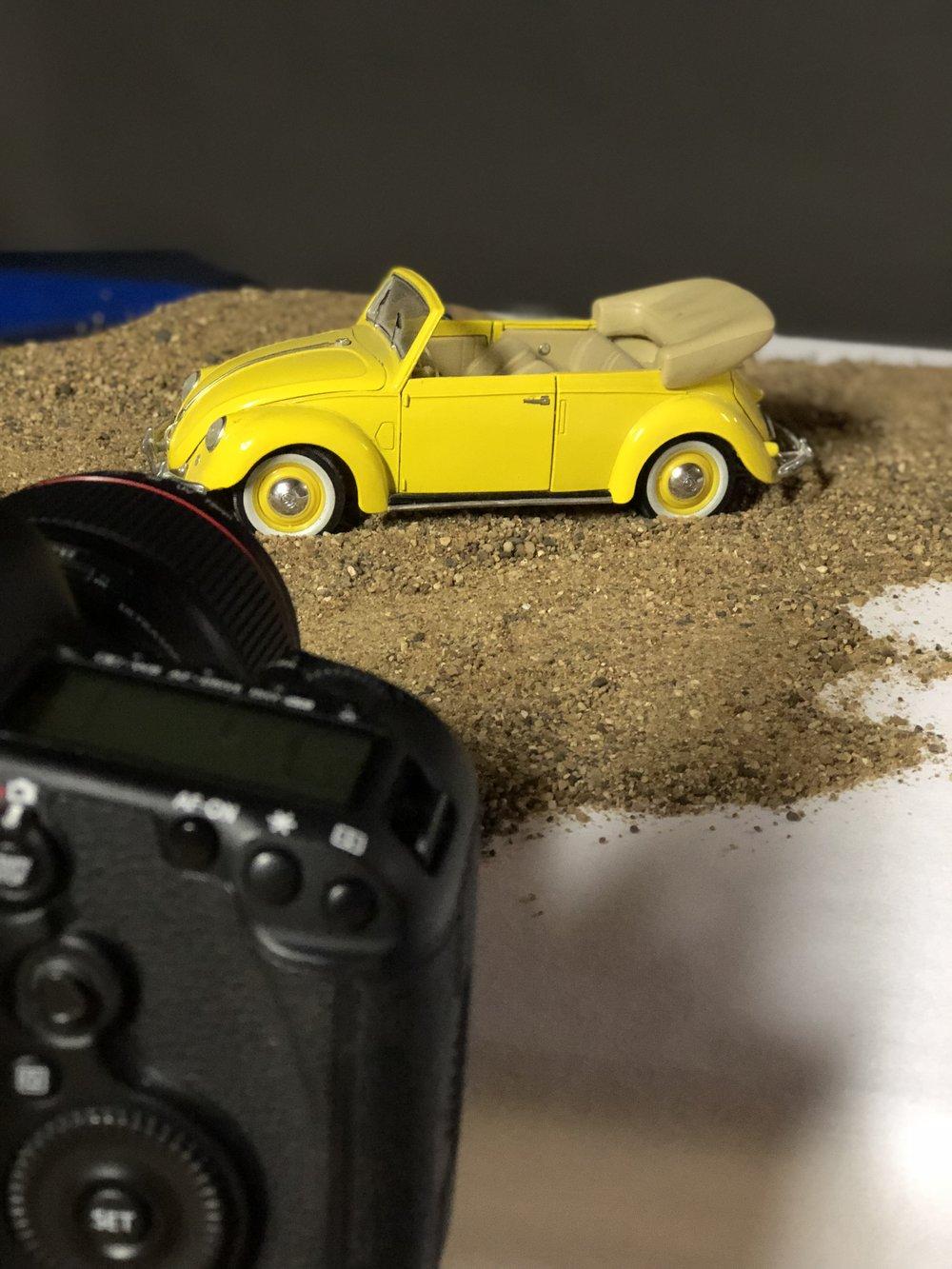 Volkswagon at the Beach
