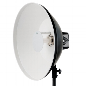 "22"" White High Output Beauty Dish"