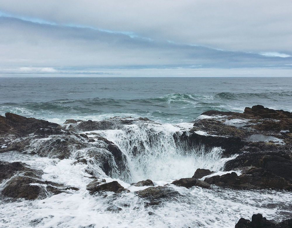 Thor's Well.