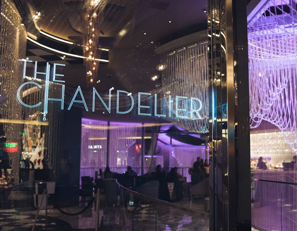 Las Vegas - The Chandelier Bar