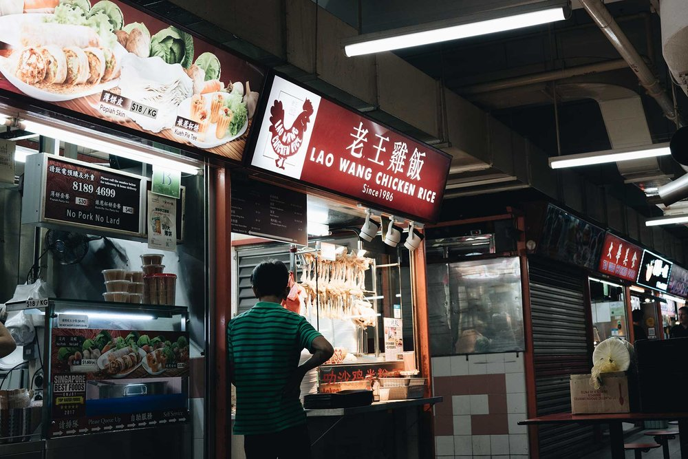 Singapore - Hawker Stands