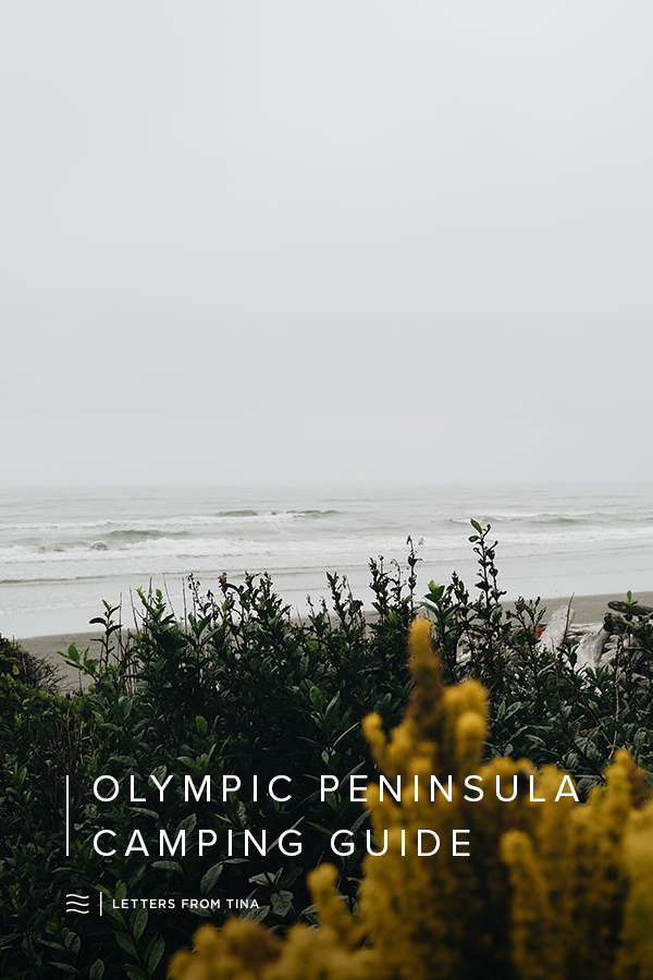 A Guide to Camping Along the Olympic Peninsula #olympicpeninsula #travelguide #camping