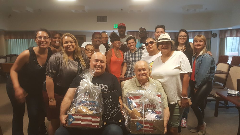 Café y Dominoes - On May 21, 2017, PRiA held the first Café y Dominos Tournament in Hollywood, CA. Puerto Ricans In Action is committed to providing family events for our community.