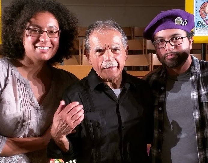 Meeting Oscar Rivera Lopez - On May 31, 2017, we were honored to join the Bay Area Puerto Rican community in welcoming Oscar Lopez Rivera to California. The final audience count was nearly 300.The hosts shared recent proclamations by both the Berkeley City Council, and San Francisco's County Board of Supervisors. Oscar took the stage and spoke about his gratitude for the men and women that fought for his independence for over 36 years (1981-2017). The event ended with an emotional chorus of La Borinqueña.