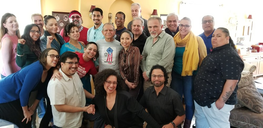 Oscar Lopez SoCal Tour - In Feb of 2018, PRiA and the committee of organizers put together Oscar's SoCal Tour