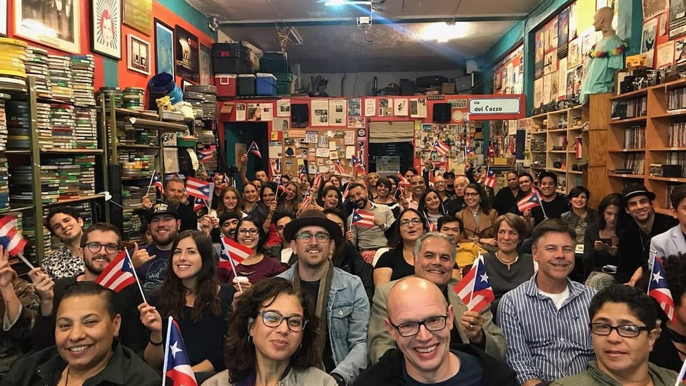 1st AnnualPuerto Rican Film Night - On November 9, 2018, Puerto Ricans in Action hosted the First Annual