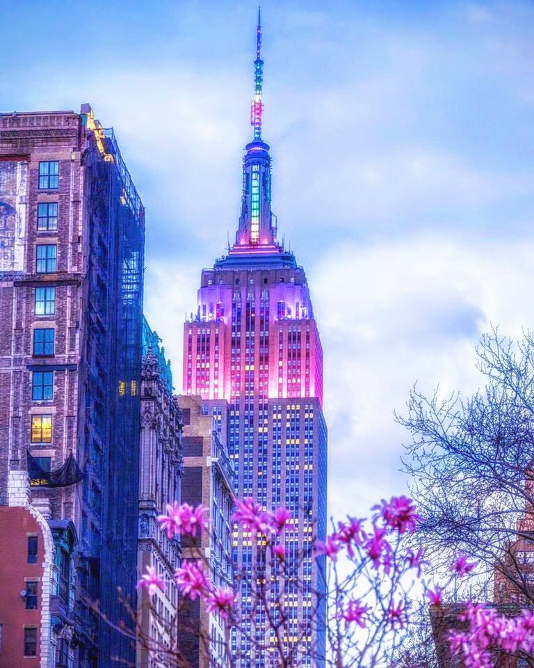 the perfect spring match: the empire state building and the environment