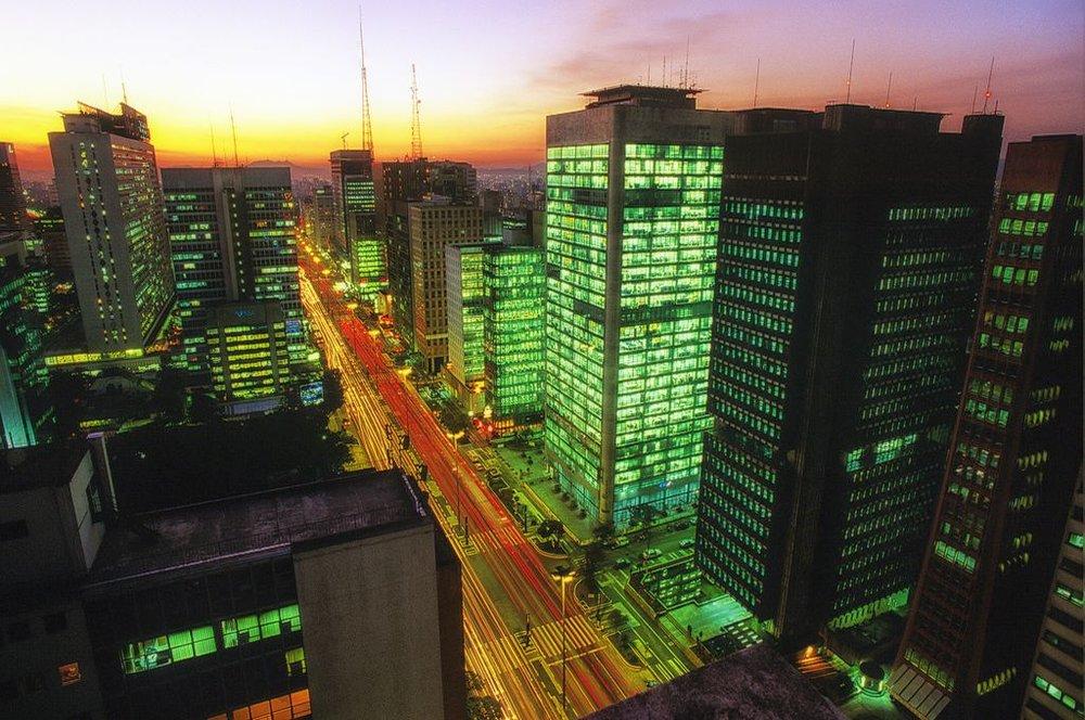 avenida paulista, in downtown são paulo
