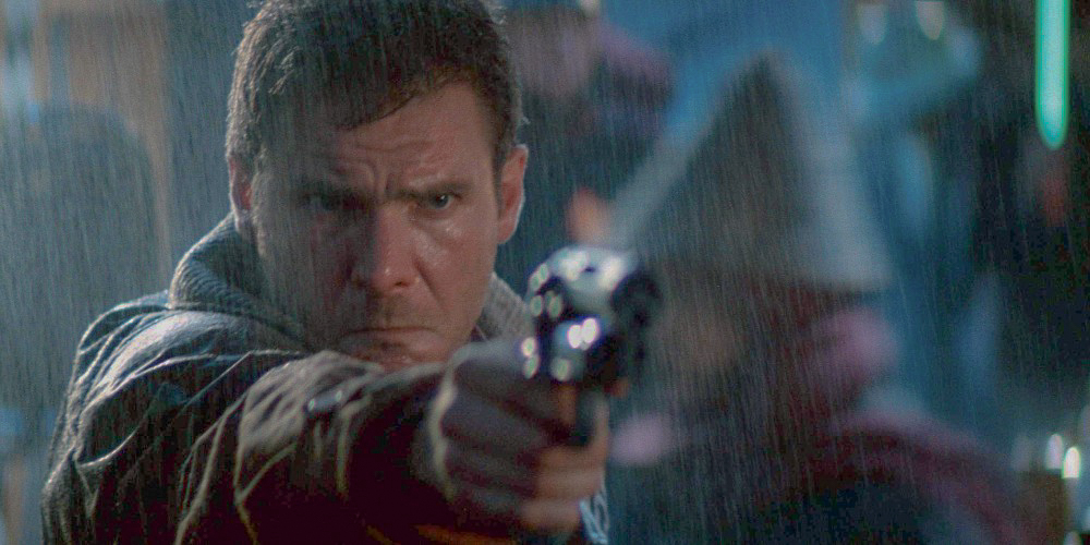 harrion ford is richard decker (blade runner, 1982)