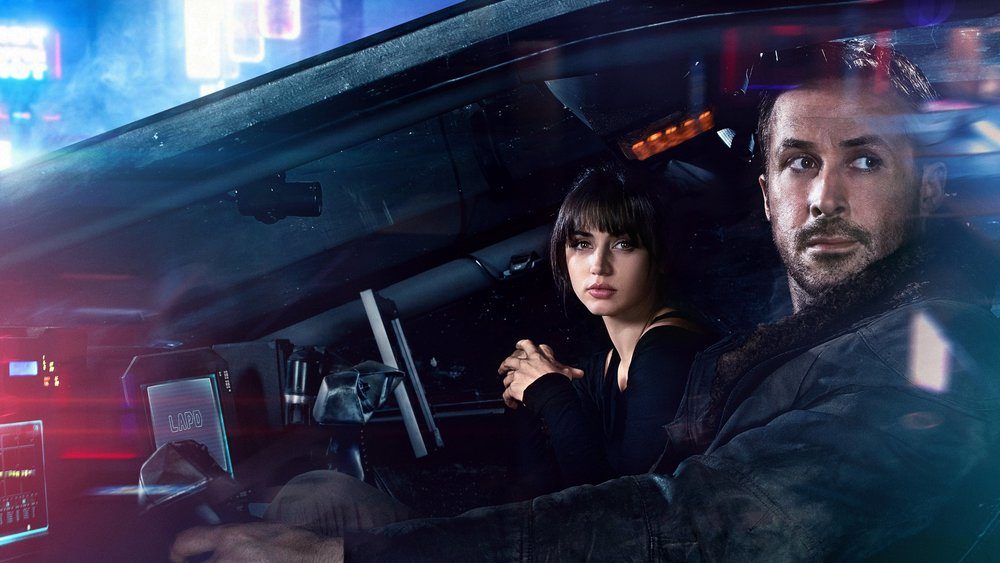 joi (ana de armas) and officer k (ryan gosling)