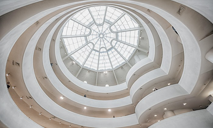 guggenheim interior. photo: lucas compan