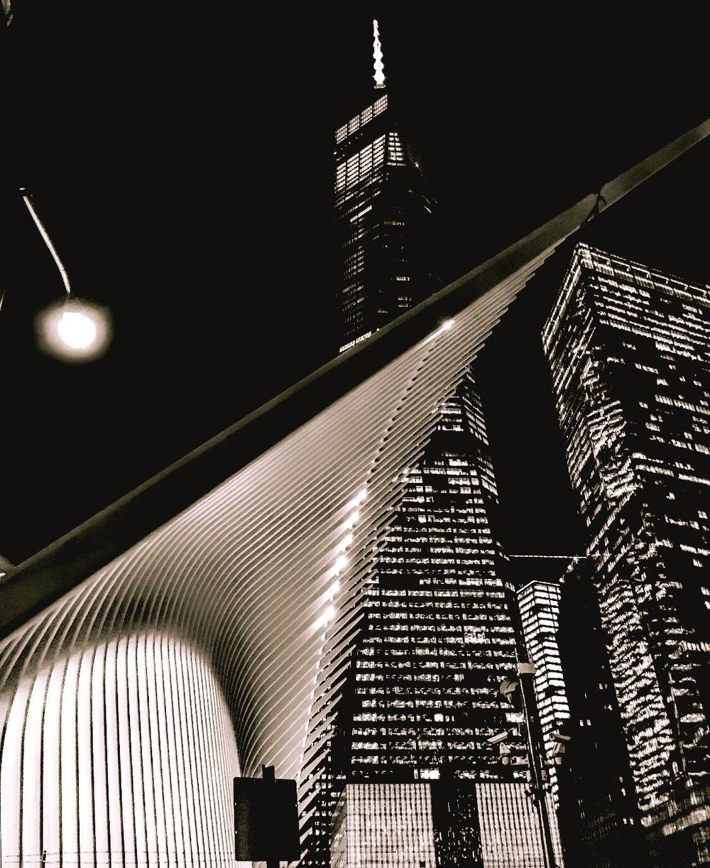 one wtc and hub transportation oculus. photo: lucas compan