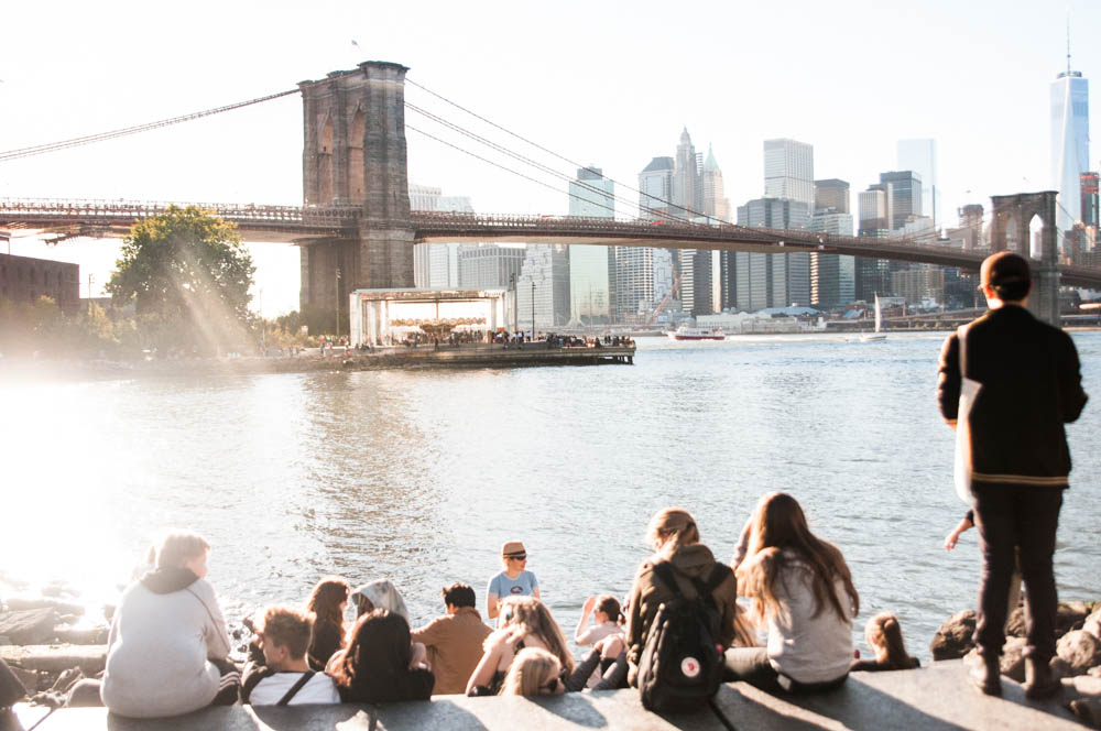 the view from brooklyn bridge park. photo: lucas compan