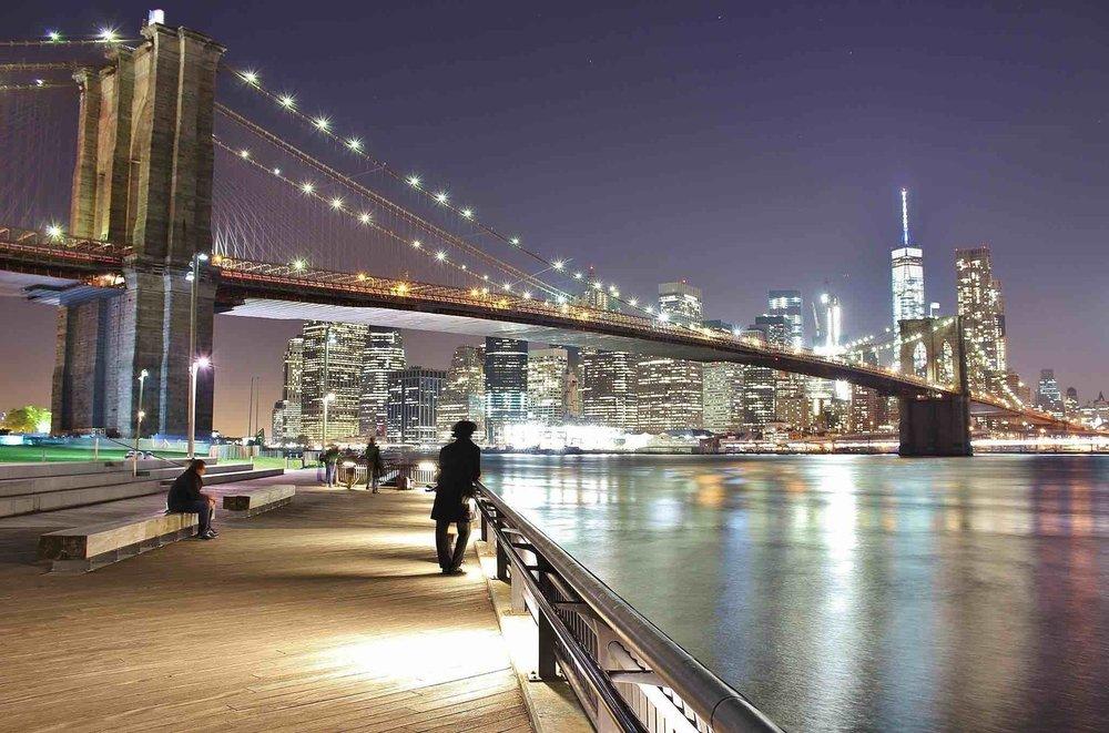 the brooklyn bridge. photo: daniel mirkov