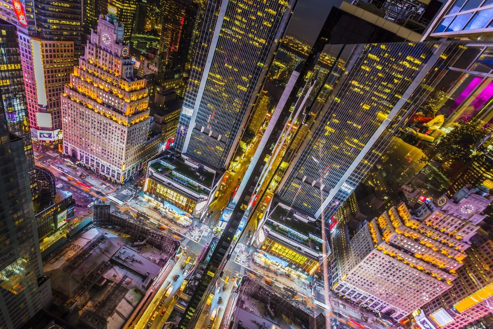 times square from above. photo: lucas compan