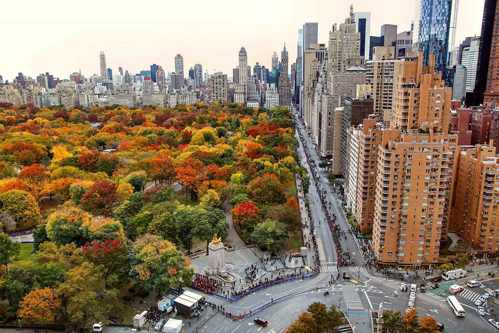 central park south and columbus circle at the time-warner center. photo: lucas compan