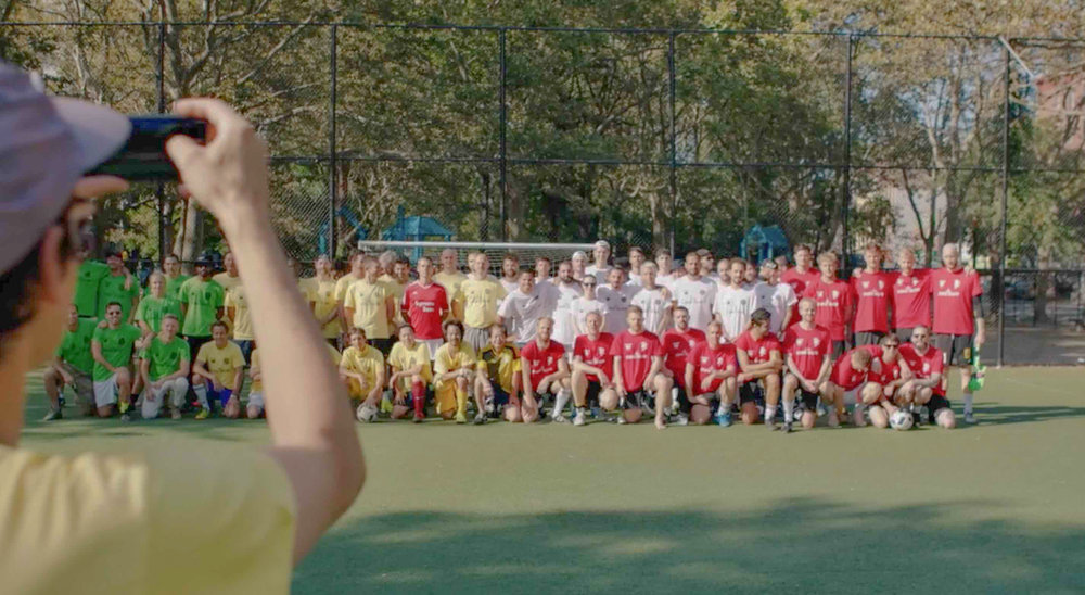 Photographers, filmmakers, designers, furniture makers, creatives from four corners of the world meet up in Chinatown to speak the universal language playing soccer.