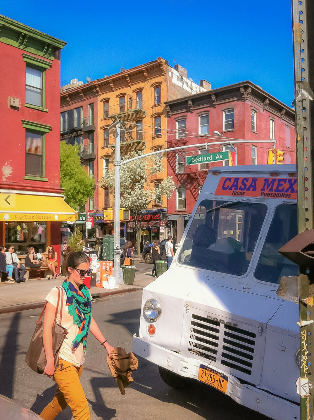 you can feel williamsburg's vibrant vibe in the air. photo by lucas compan