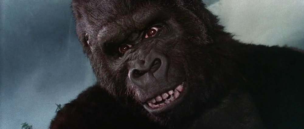 king kong was shocked. he couldn't believe someone was saying that.
