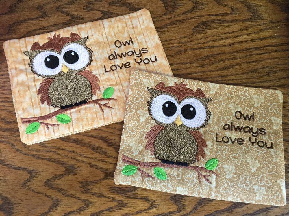 Owl Mug Rugs.JPG