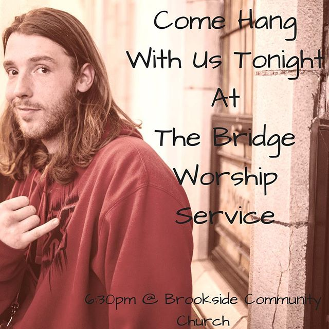 "We believe in the redemptive power of Christ to restore us as we walk in relationship with him and one another.  Join us tonight from 6:30 pm - 8:00 pm at Brookside Community Church for ""The Bridge"" reentry worship service. See firsthand the work that the Lord is doing in our community."