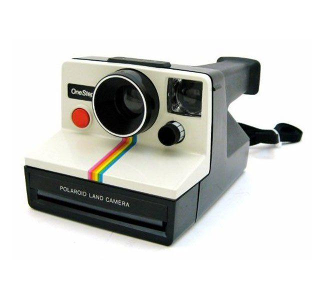 The classic Polaroid OneStep.
