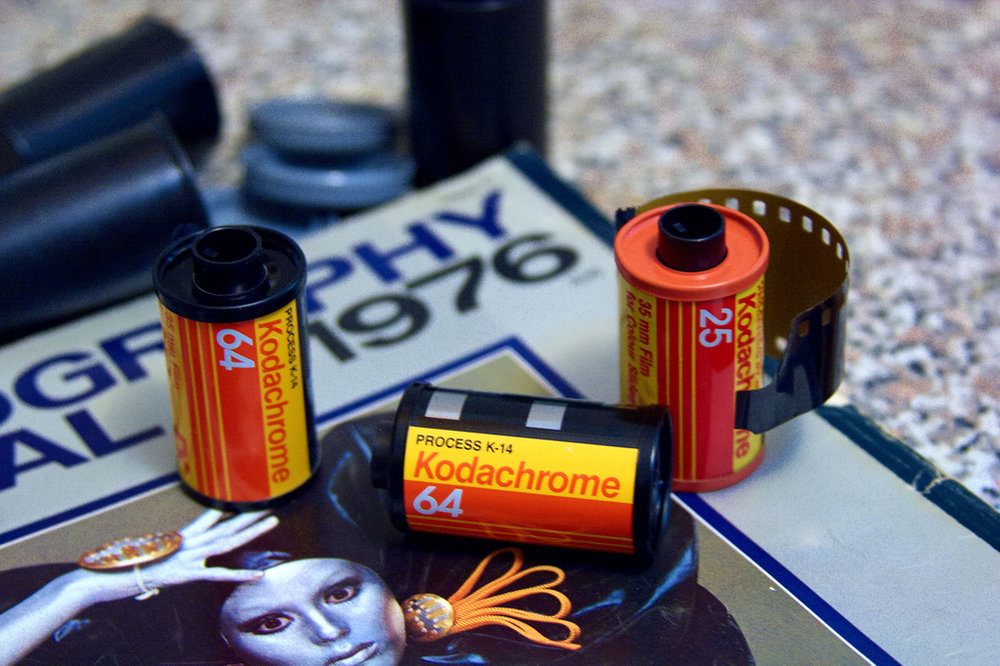 Some film stocks have been discontinued for years, other times the entire format has gone the way of the dodo. Check out The Darkroom, as they often develop these outdated stocks and formats.