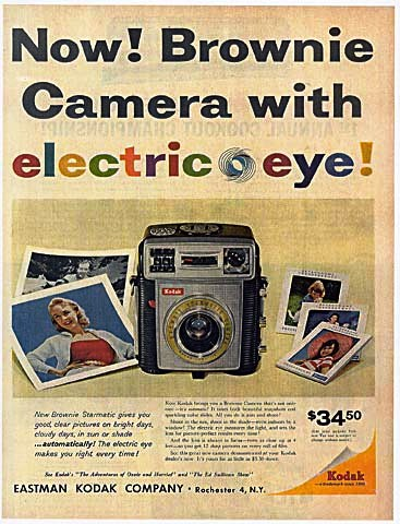 The Brownie was the every-man's camera. It was cheap, took great photos, and if it broke, you could easily replace it.