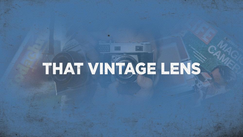 That Vintage Lens podcast film photography medium format branden stanley