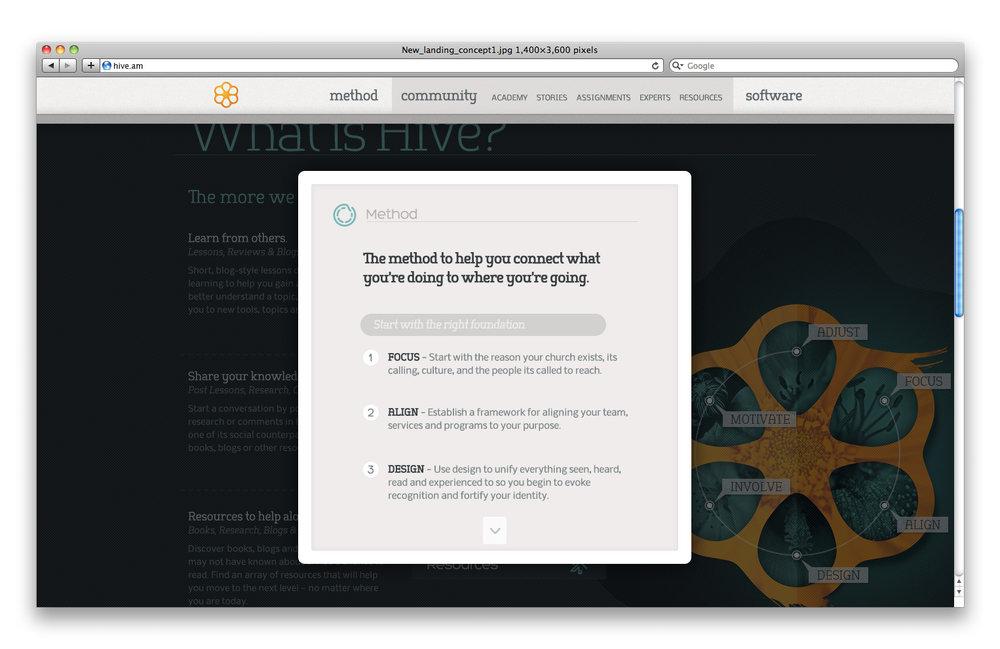 Hive_homepage_screenshot7