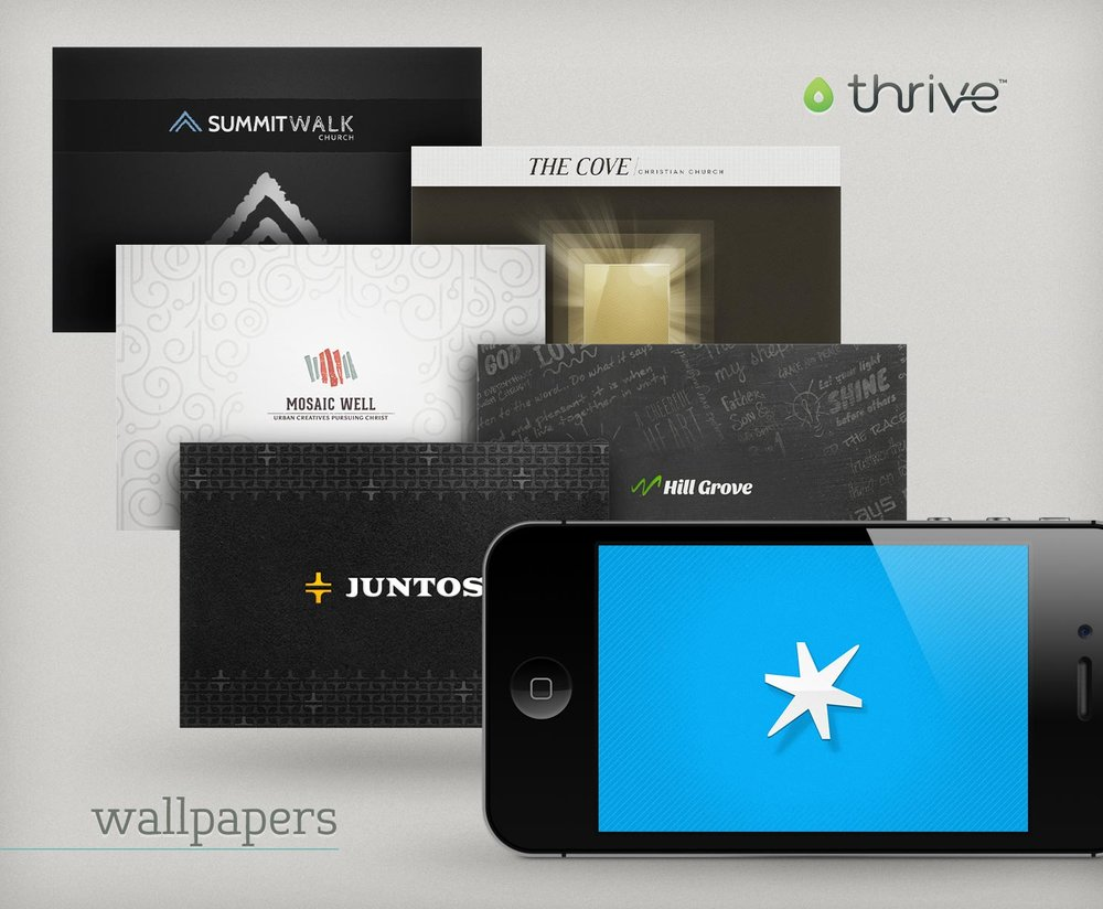 Thrive wallpaper themes