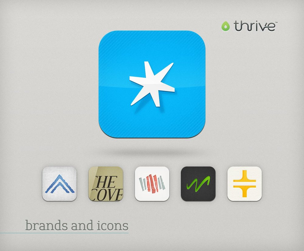 Thrive brand and icon themes