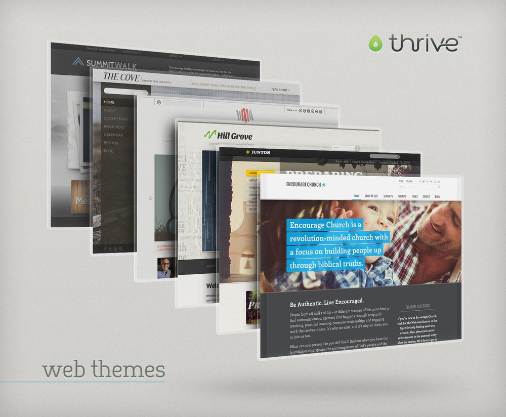 Thrive web themes