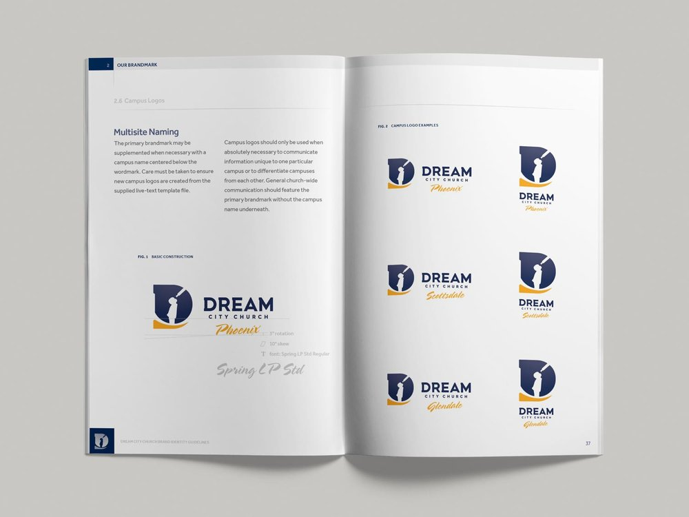 Dream City Church brand guidelines pp36-37