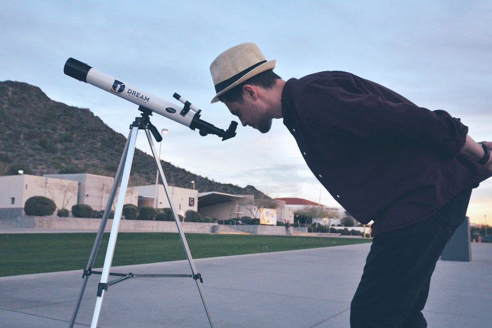 Dream City Church telescope