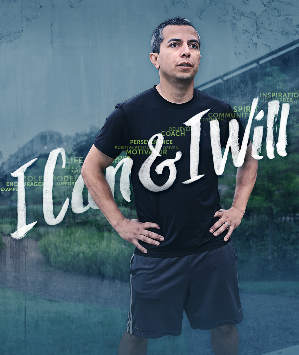 2015 Lawndale 5K thematic artwork. Image copyright Jeff Miller, HellothisisJeff Design LLC