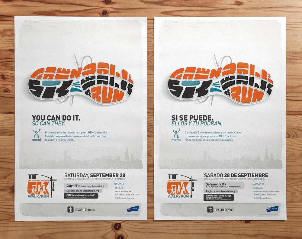 2013 Lawndale 5K Posters (English & Spanish)