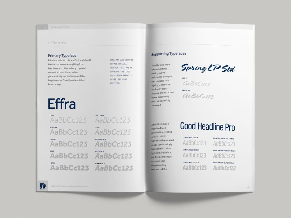 Dream City Church brand guidelines pp46-47
