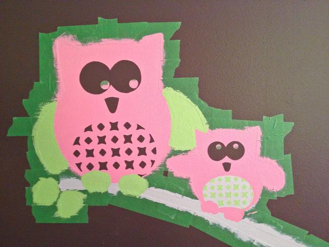 nursery mural step 10-3
