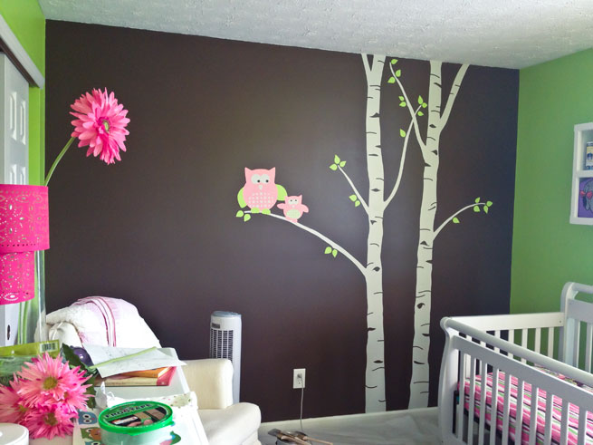 Finished nursery mural