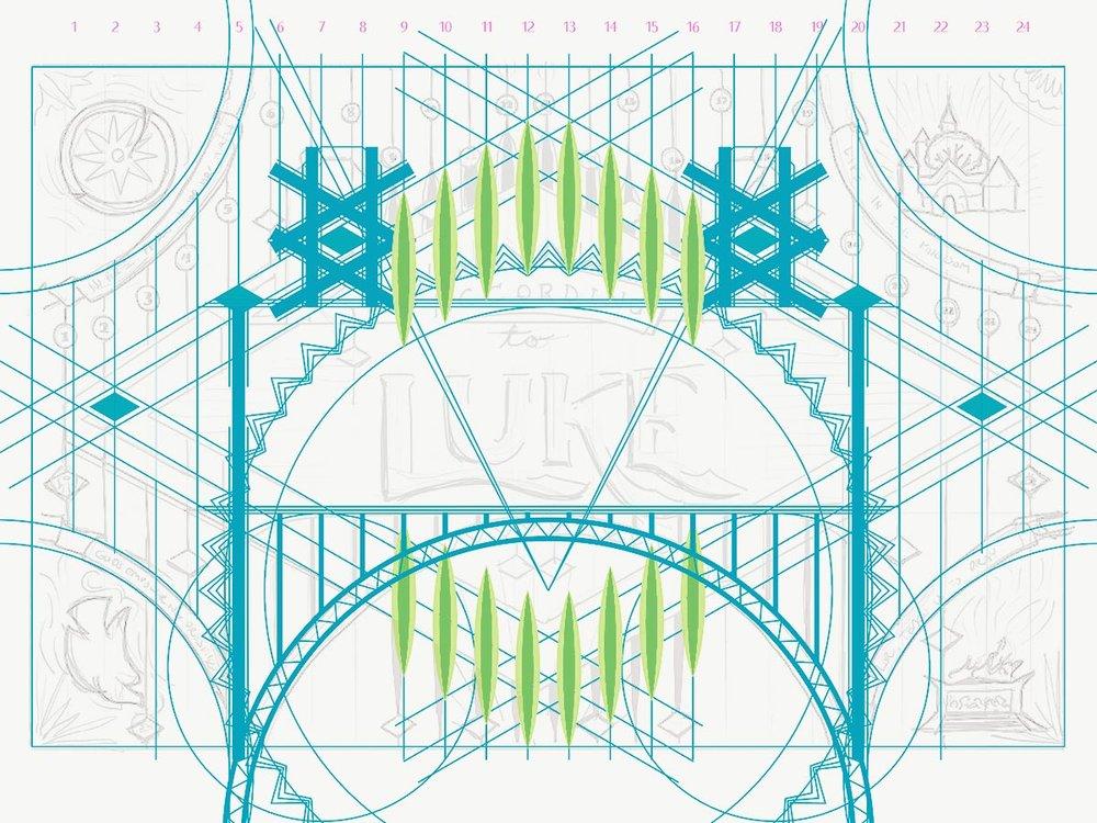 Luke vector framework.Image copyright Jeff Miller, HellothisisJeff Design LLC