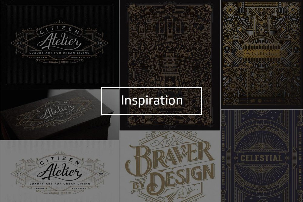 Inspiration shown courtesy of  Joe White , Woodgrain Studio,  @gingermonkey ,  Justin Tran , and  @JC Desevre . See my entire inspiration Pinterest board  here .