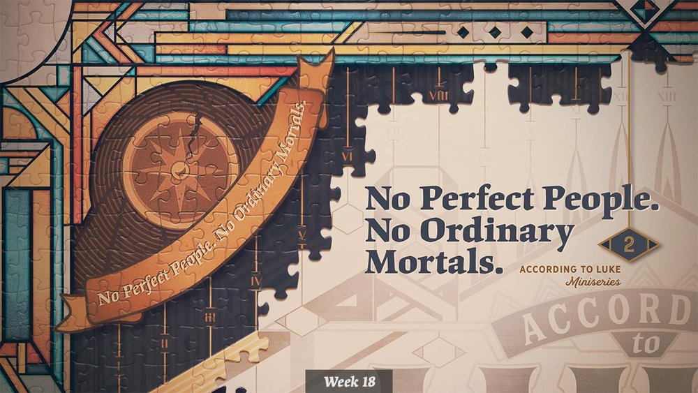 According to Luke – No Perfect People, No Ordinary Mortals miniseries graphic