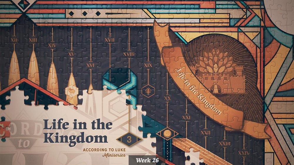 According to Luke – Life in the Kingdom miniseries graphic