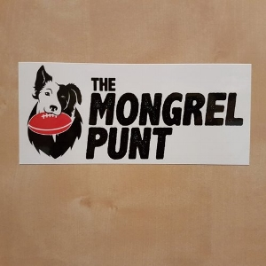 Click on the photo - buy a Bumper Sticker and Support The Mongrel. Go on… we'd really appreciate it.
