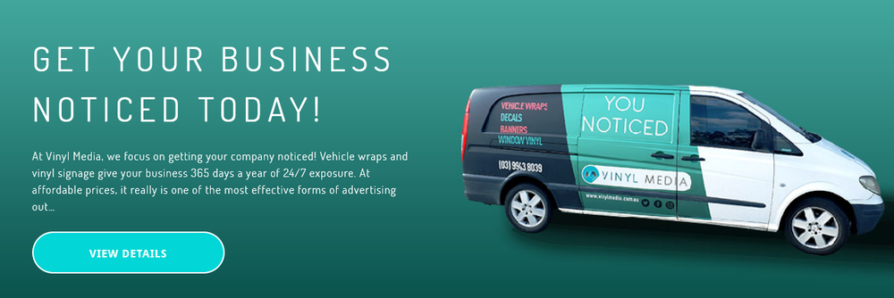 Cool van, huh? That's what Vinyl Media can do for your business. Click the pic and tell 'em The Mongrel sent you.