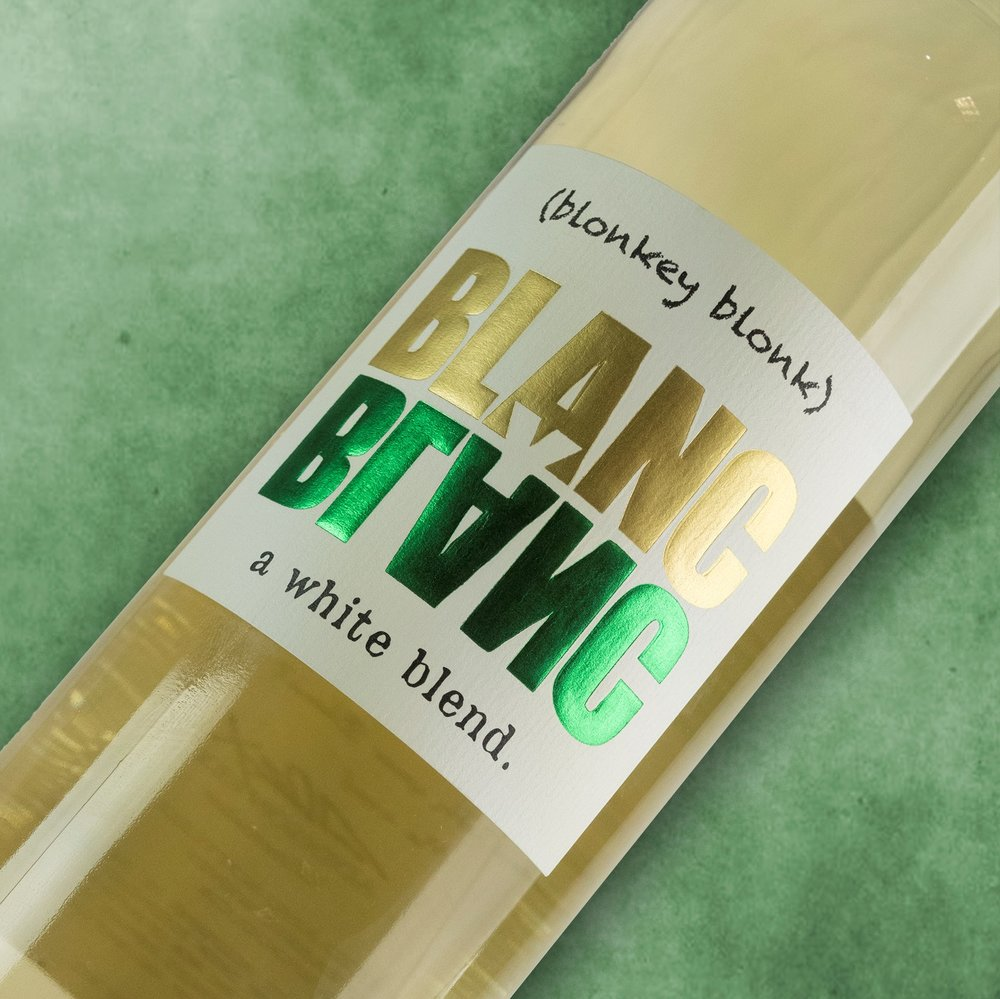 Blanc Y Blanc - Full Media Kit: Label, Bottleshots, Tech Sheet